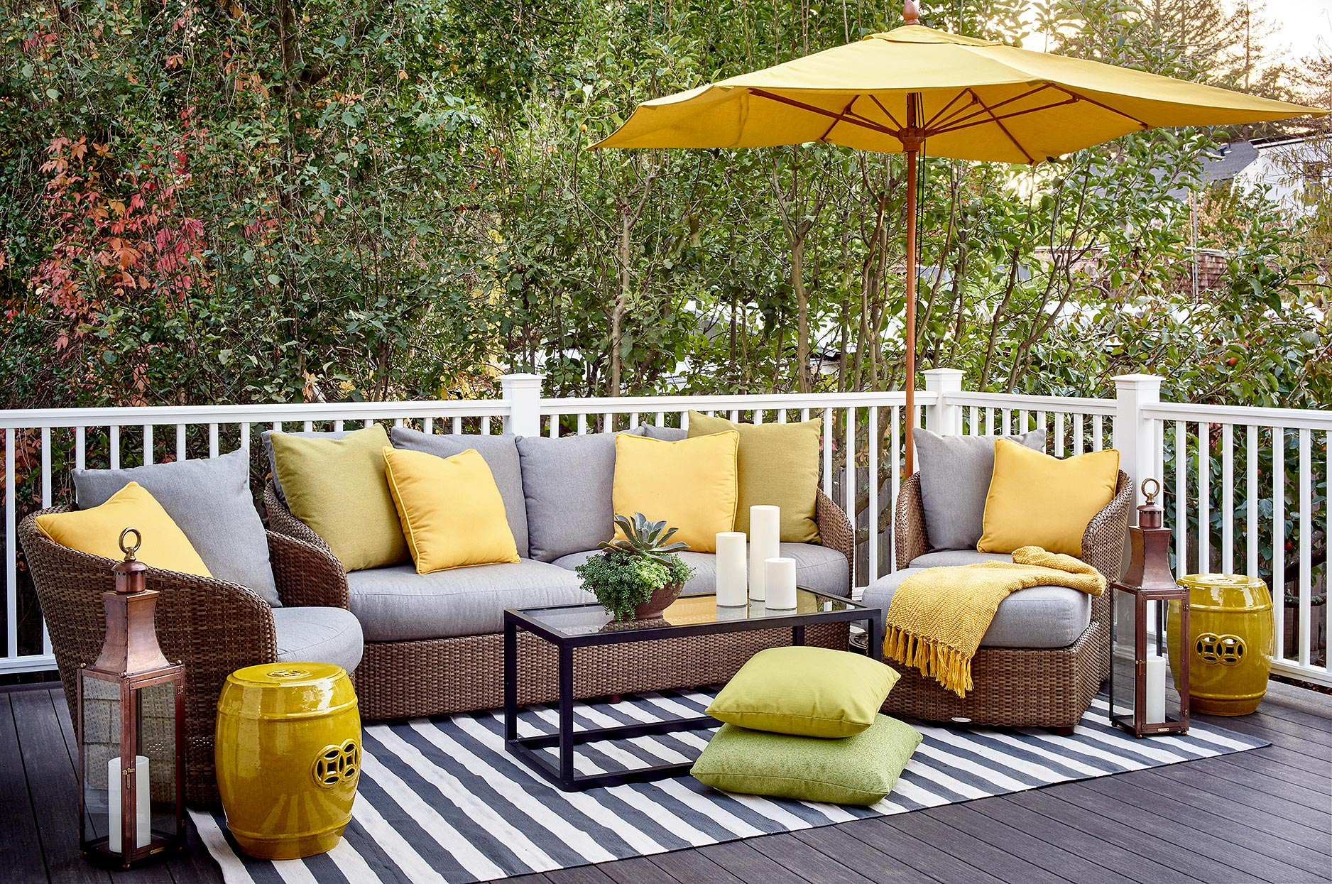 How To Update Your Deck For Laidback Outdoor Living Better Homes Gardens