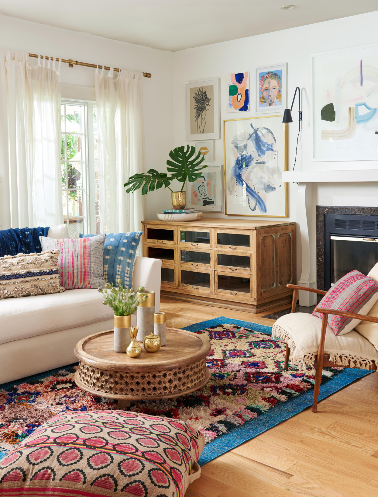 18 Ways To Embrace Boho Style In Your Home Better Homes Gardens