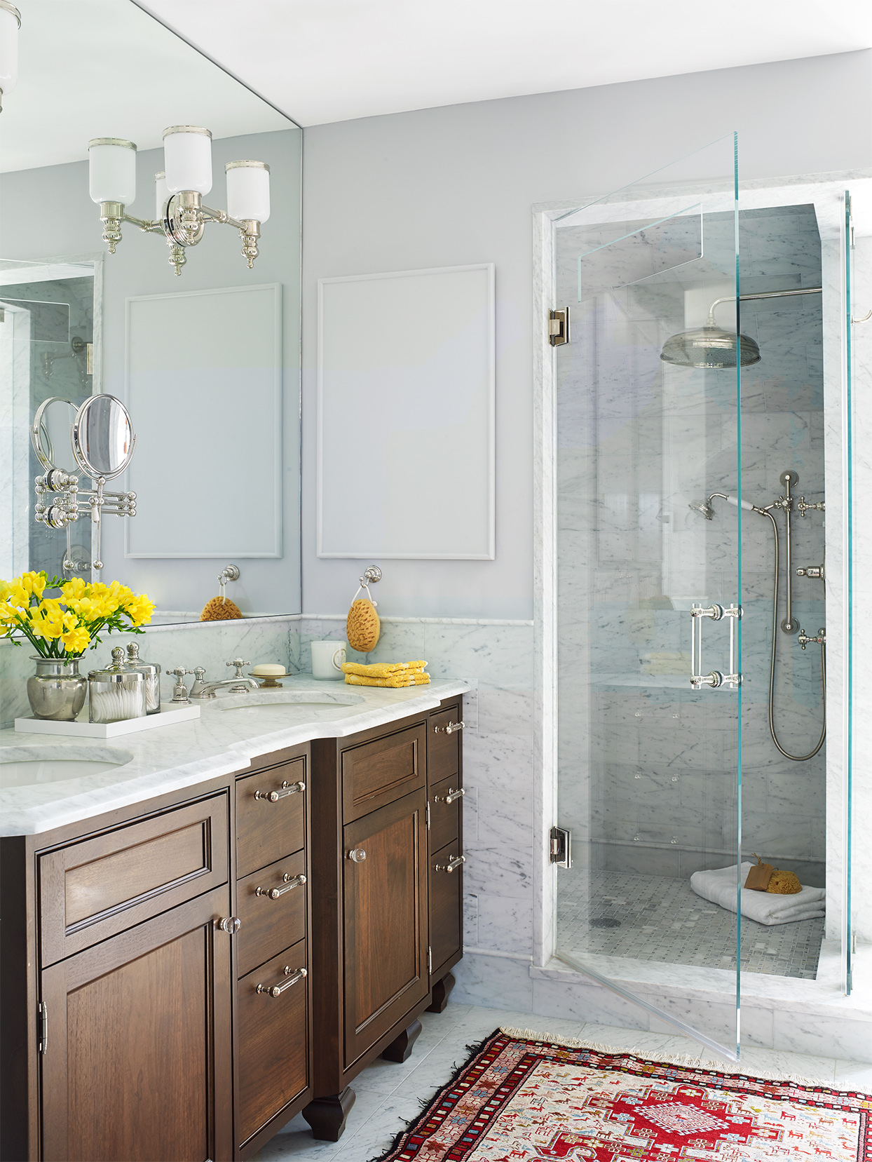 20 Stunning Walk-In Shower Ideas For Small Bathrooms | Better Homes & Gardens