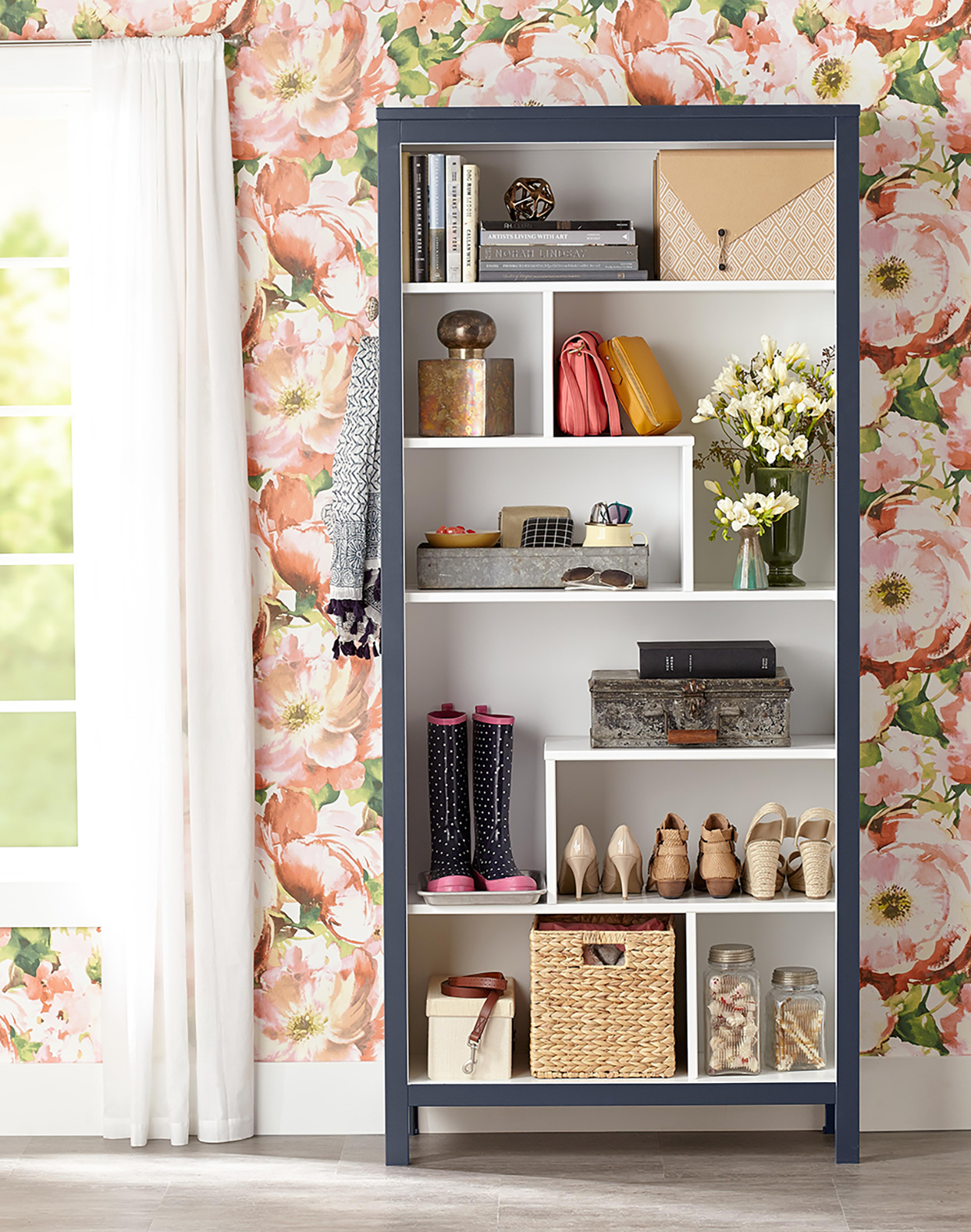 Transform Plain Shelves With These Before And After Bookcase Makeover Ideas Better Homes Gardens