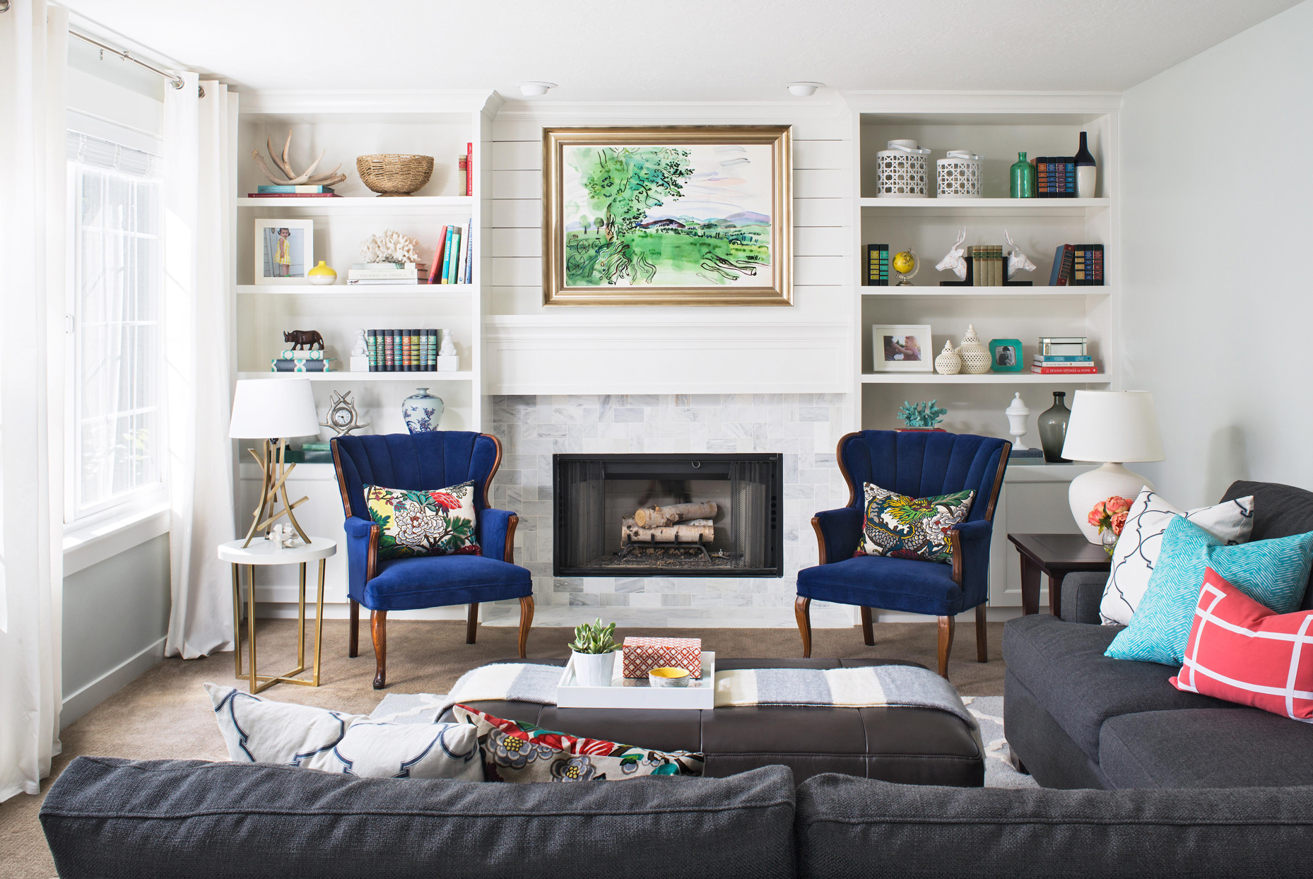 These Before And After Fireplace Makeovers Went From Cold To Cozy Better Homes Gardens