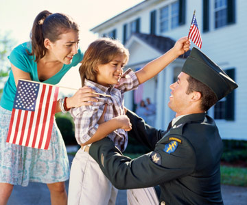 Military Families: Helping Kids Cope