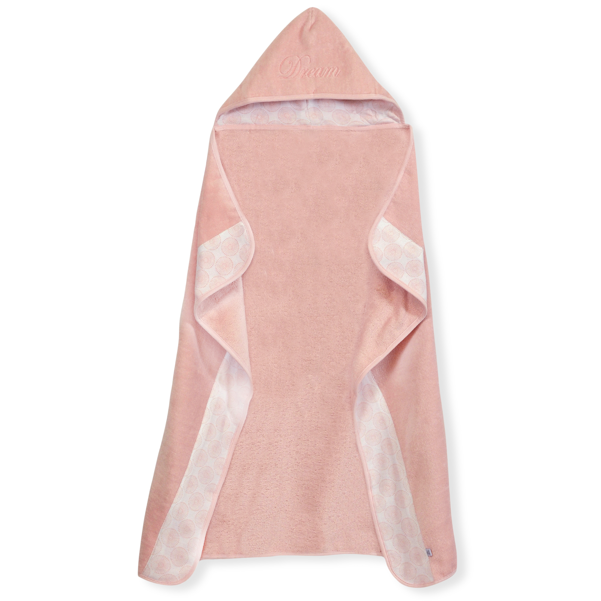 "Just Born® Keepsake ""Dream"" Hooded Towel in Pink"