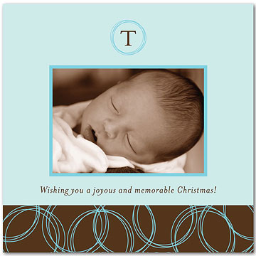 Put Baby on Your Holiday Card -- but Keep It Simple