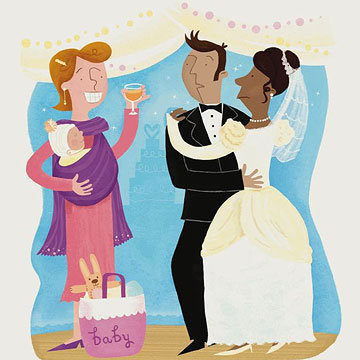 Q&A: Can I Bring My Baby to a Wedding?