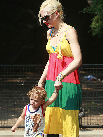 Gwen Stefani and Kingston