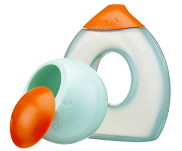 Boon's Snack Ball and Fluid Toddler Cup