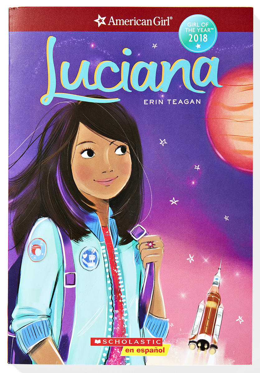 Luciana by Erin Teagan Book Cover