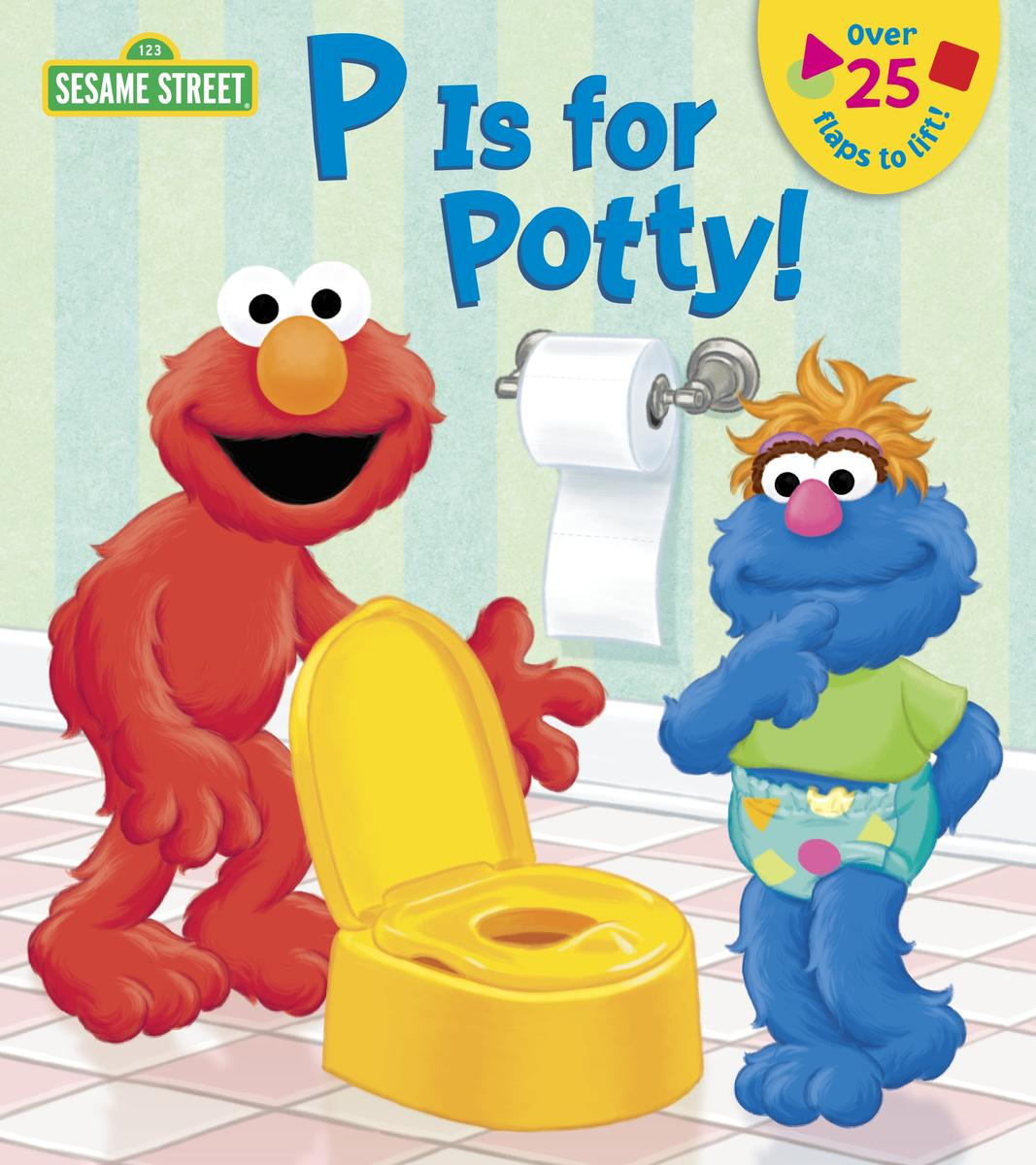 P is for Potty Book Cover
