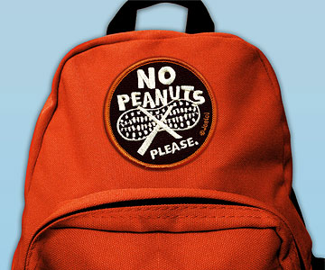 No Peanuts Patch by Jeeto