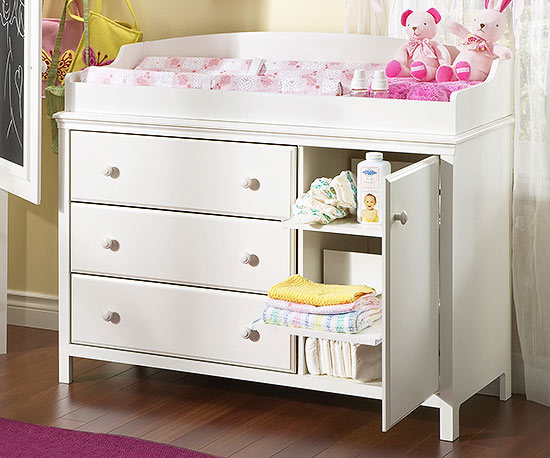 South Shore's Cotton Candy Changing Table