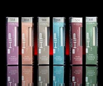 L'Oreal HIP Pure Pigment Shadow Sticks