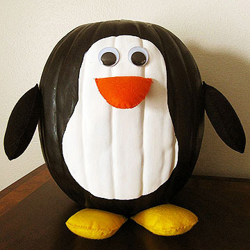 Penguin Pumpkin