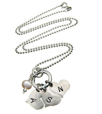 Itty Bitty Hearts necklace, from Lisa Leonard Designs