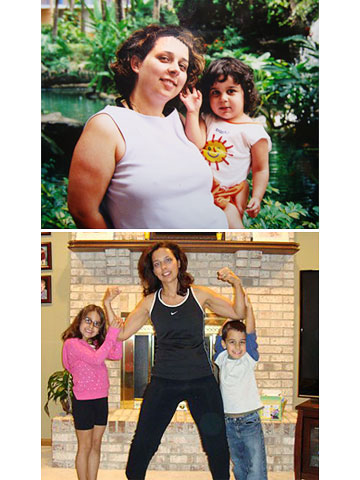 Lorri Christou Before & After Losing the Baby Weight