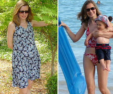 Liliana Before & After Losing the Baby Weight