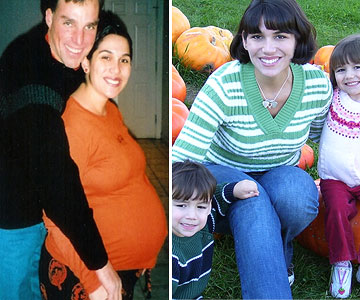 Kacey Before & After Losing the Baby Weight
