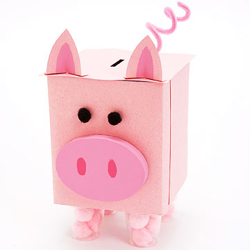 Sneezy Does It: Make a Piggy Bank From a Tissue Box