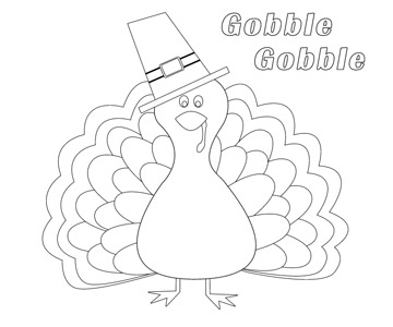 15 Free Printable Thanksgiving Coloring Pages