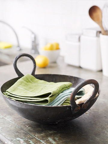 Repurpose an Old Wok