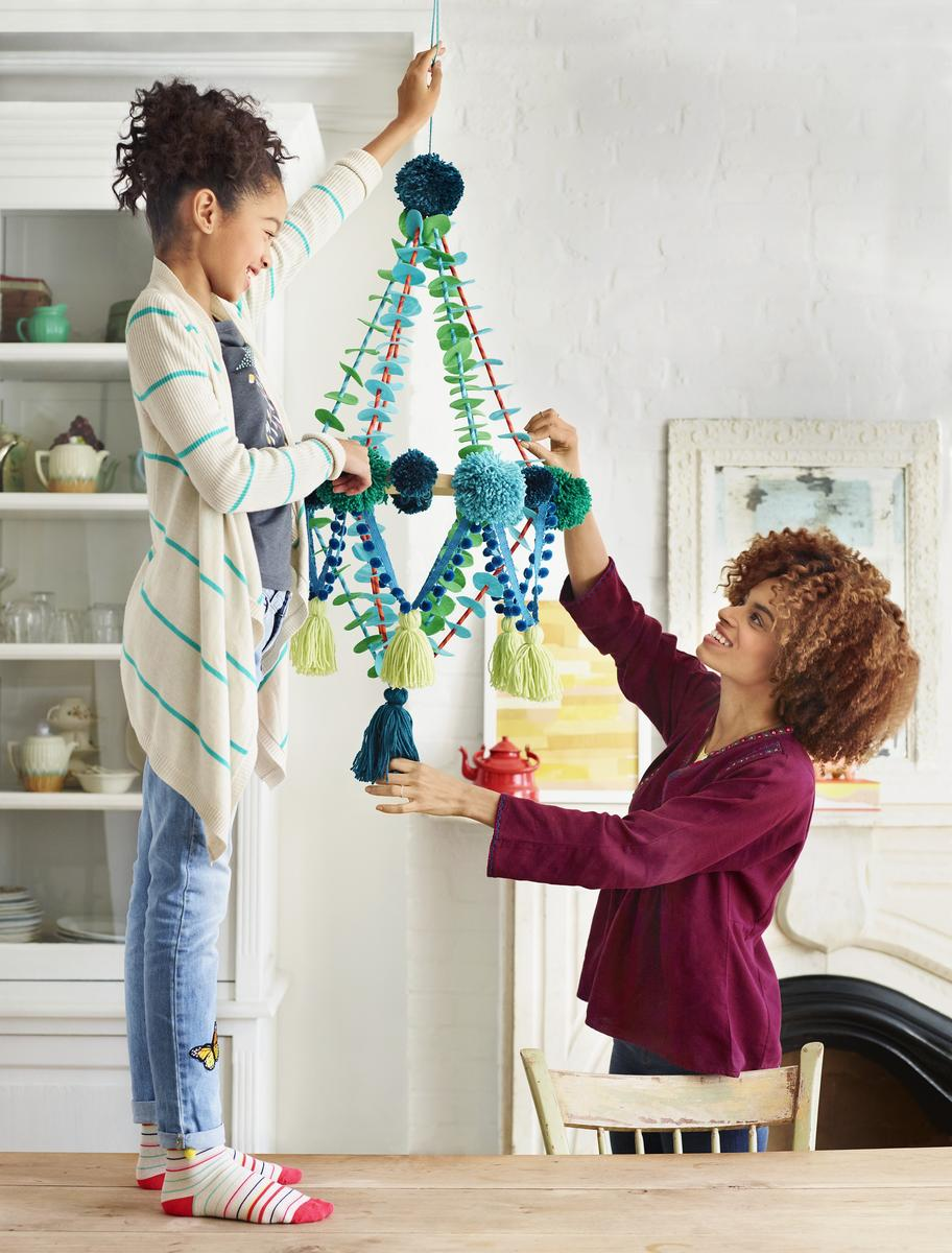 Pajaki Chandelier Hang In There Yarn Crafts