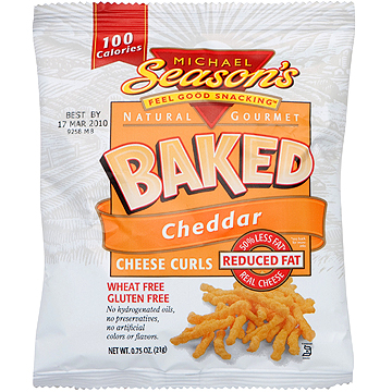 Michael Season's Baked Cheddar Cheese Puffs