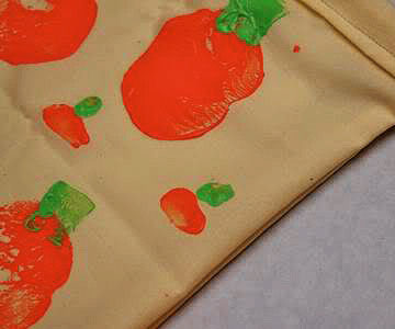 Pumpkin stamp bag