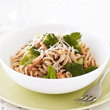 Pasta with Garlicky Roasted Broccoli