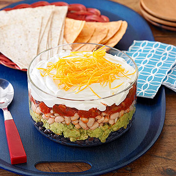 Six-Layer Mexican Dip