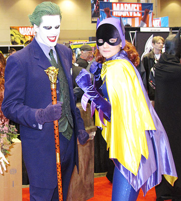 Superhero Wannabes: Check Out a Comic Convention