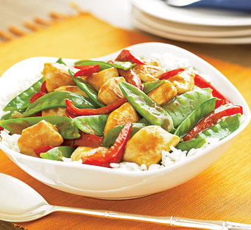 Citrus Chicken Stir-Fry