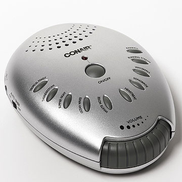 Conair's Sound Therapy machine