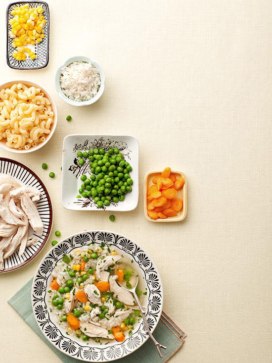 DIY Chicken Soup With Rice