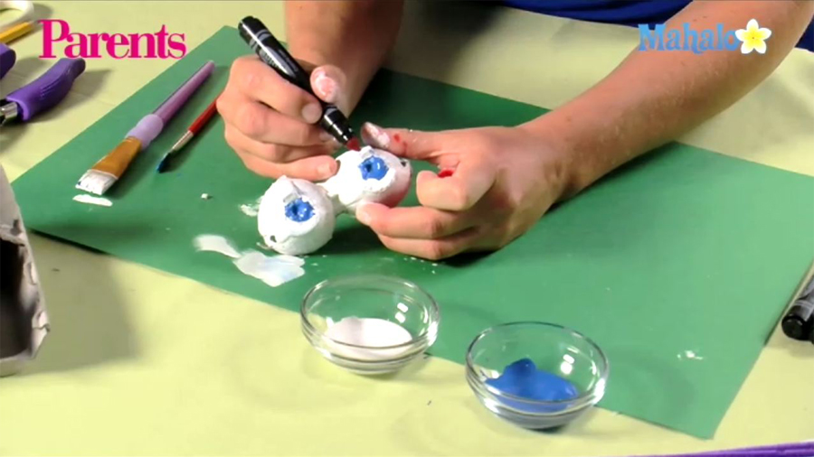 Eye See You Glasses Craft: How-To Video