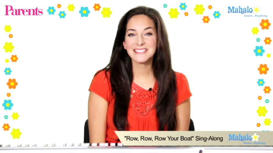Row, Row, Row Your Boat: Sing-Along Song Video for Kids