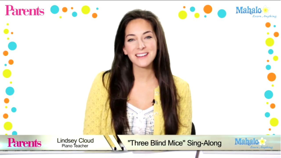 Three Blind Mice: Sing-Along Song Video for Kids