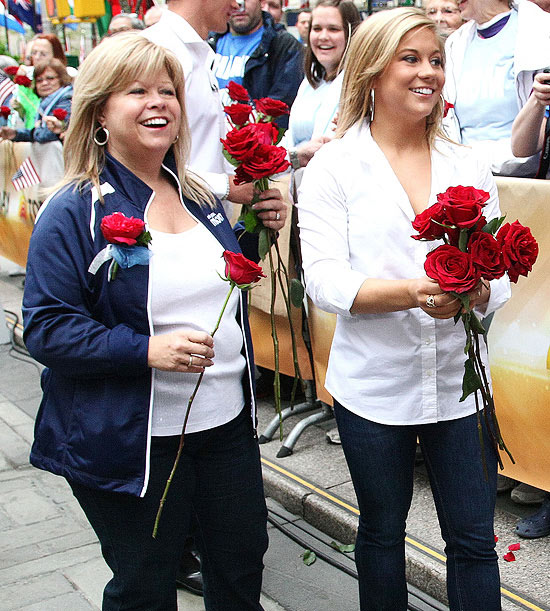 Teri Johnson and Shawn Johnson