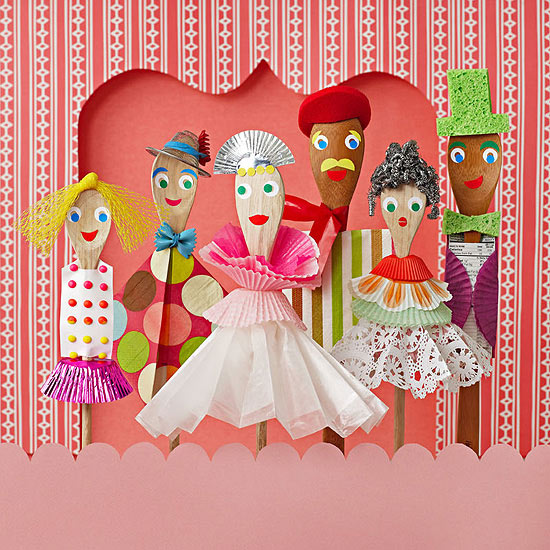 Pantry People Puppets