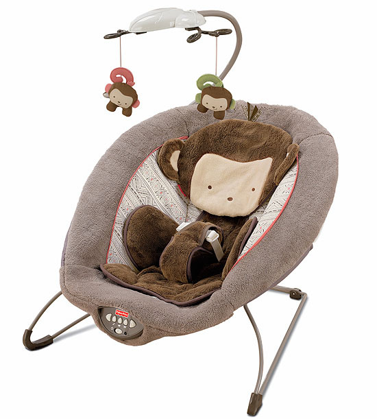 Fisher-Price's My Little SnugaMonkey Deluxe Bouncer
