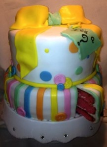 Gender Reveal Cakes Love At First Bite West Palm Beach Floria Baby Shower Cakes