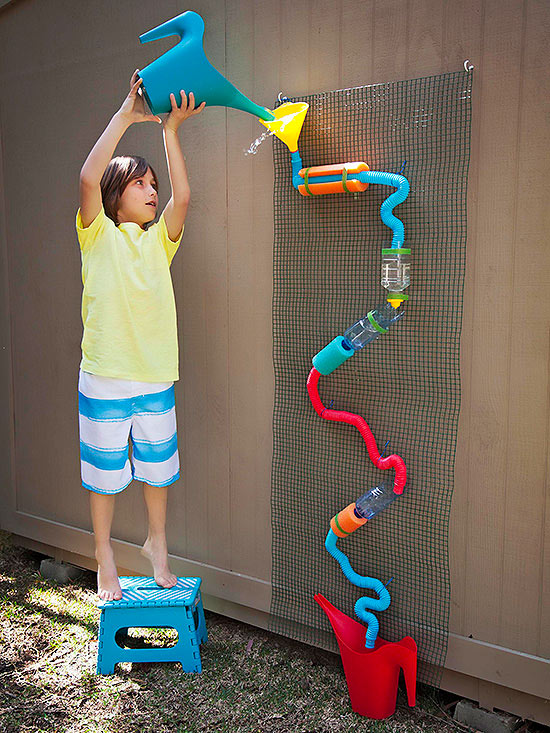 Build a Summer Water Wall