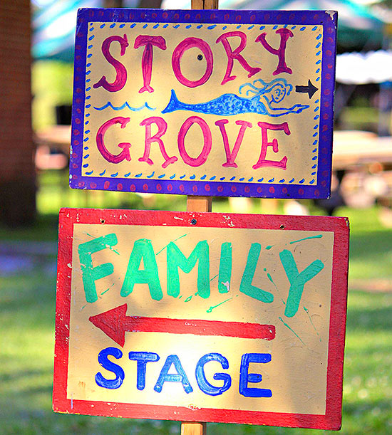 Story Grove Family Stage