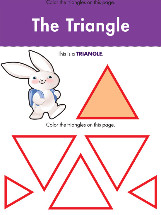 photograph relating to Printable Shapes for Preschoolers referred to as Printable Styles Worksheets Dad and mom