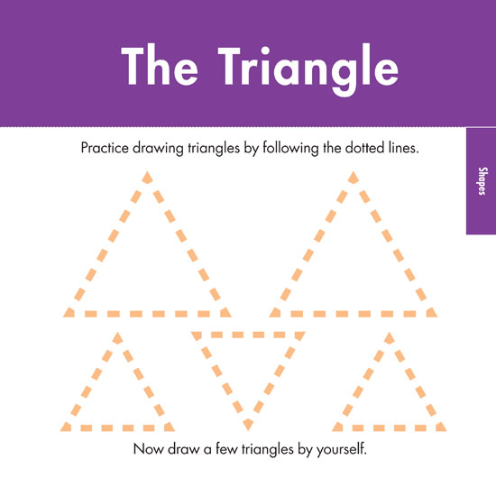 Shapes Triangle printable