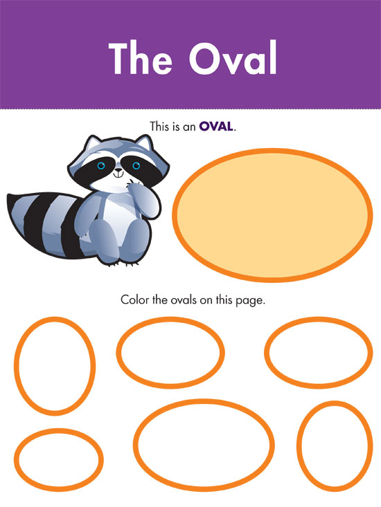 Color an Oval