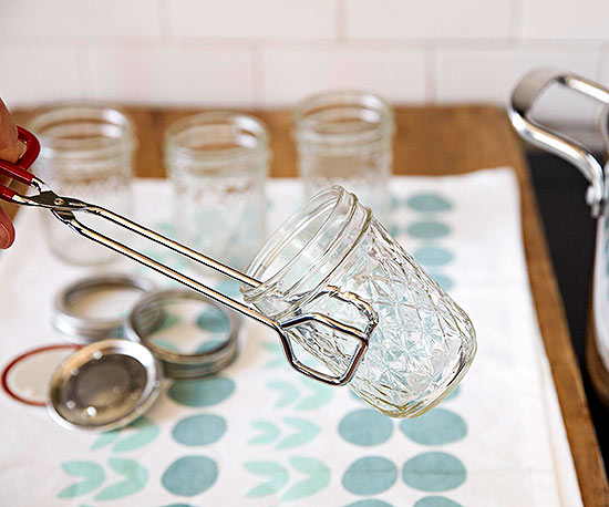 sanitize canning jars