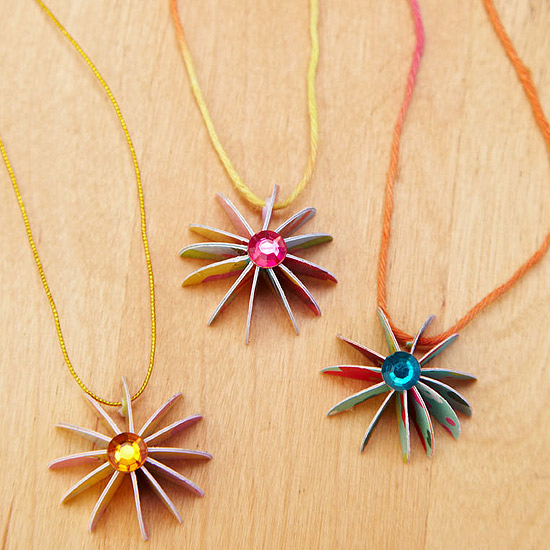 Make Greeting Card Jewelry