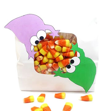 Monsters All Over Candy Bags