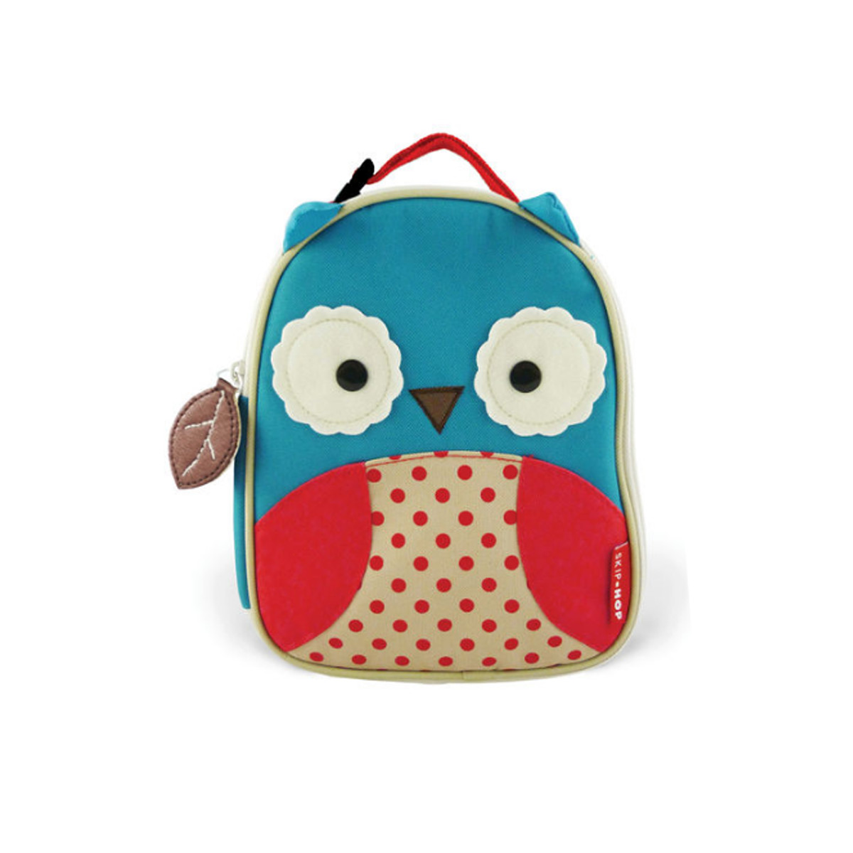Skiphop lunchbox with owl design