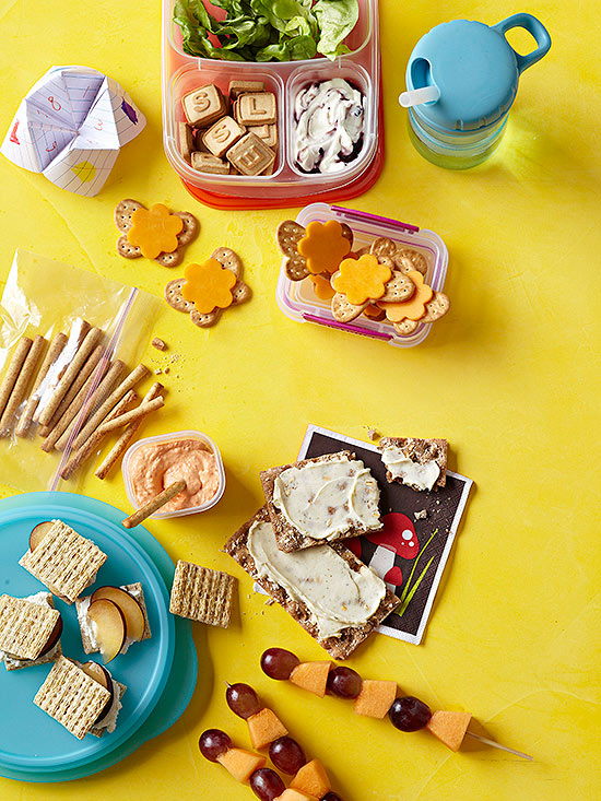 Cheese and Cracker Lunches